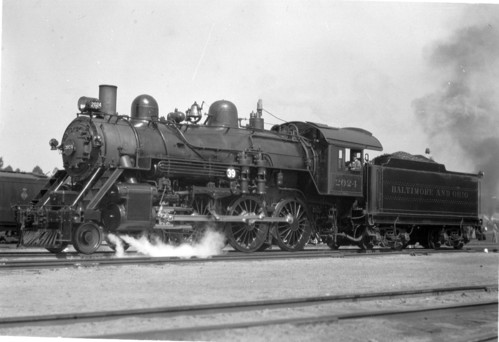 Baltimore & Ohio no. 2024 [4-6-0]