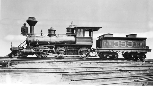 Baltimore & Ohio no. 0399 [2-6-0]