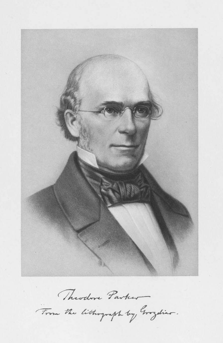 Portrait of Theodore Parker.