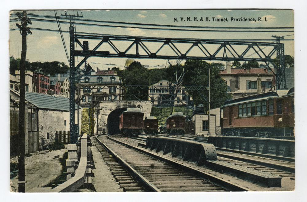 Railroad Company N.Y.N.H.&H. Tunnel, Providence, R.I.
