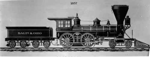 Baltimore & Ohio no. 0236 [4-4-0]