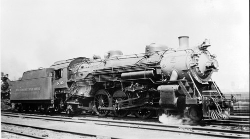 Baltimore & Ohio no. 5215 [4-6-2]
