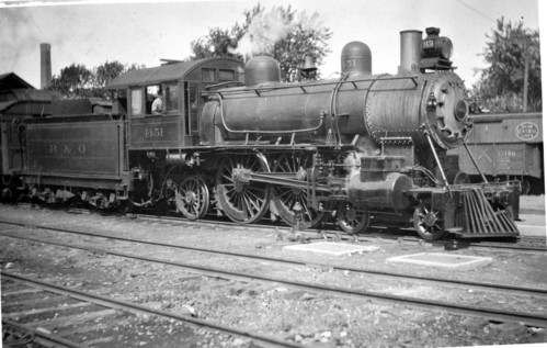 Baltimore & Ohio no. 1451 [4-4-2]