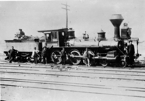 Baltimore & Ohio no. 0157 [4-6-0]
