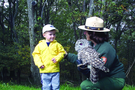 The Birds of Prey Ranger Program provides participants with an up-close view of Shenandoah raptors.