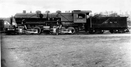 Baltimore & Ohio no. 2400 [0-6-6-0]