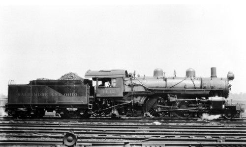 Baltimore & Ohio no. 1432 [4-4-2]