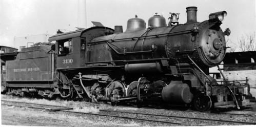 Baltimore & Ohio no. 3130 [0-8-0]