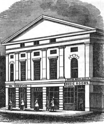 Sketch of Tremont Temple