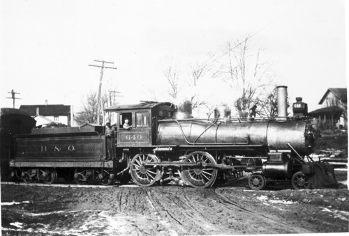 Baltimore & Ohio no. 0640 [4-4-0]