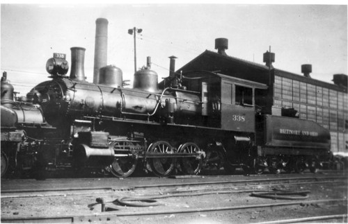 Baltimore & Ohio no. 0338 [0-6-0]