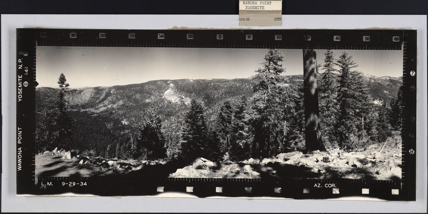 Wawona Point Yosemite