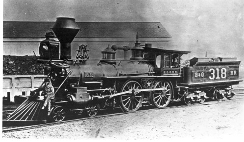 Baltimore & Ohio no. 0318 [4-4-0]