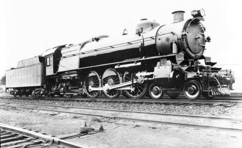 Baltimore & Ohio no. 5320 [4-6-2] Pres. Cleveland