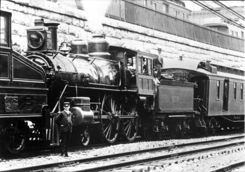 Baltimore & Ohio no. 0852 [4-4-0]