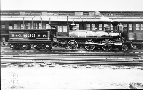 Baltimore & Ohio no. 0600 [2-6-0]