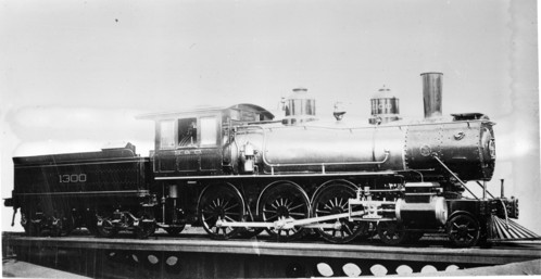 Baltimore & Ohio no. 1300 [4-6-0]