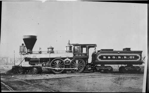 Baltimore & Ohio no. 0042 [4-4-0]