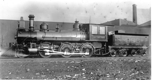 Baltimore & Ohio no. 0955 [2-6-0]