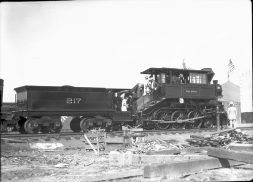 Baltimore & Ohio no. 0217 [4-6-0]