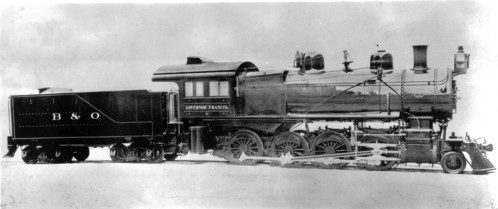 Baltimore & Ohio no. 2335 [2-8-0] Gov. Francis