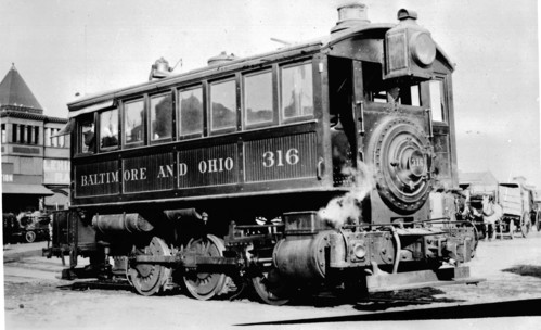 Baltimore & Ohio no. 0316 [0-6-0]
