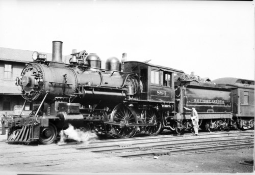 Baltimore & Ohio no. 0884 [4-4-0]