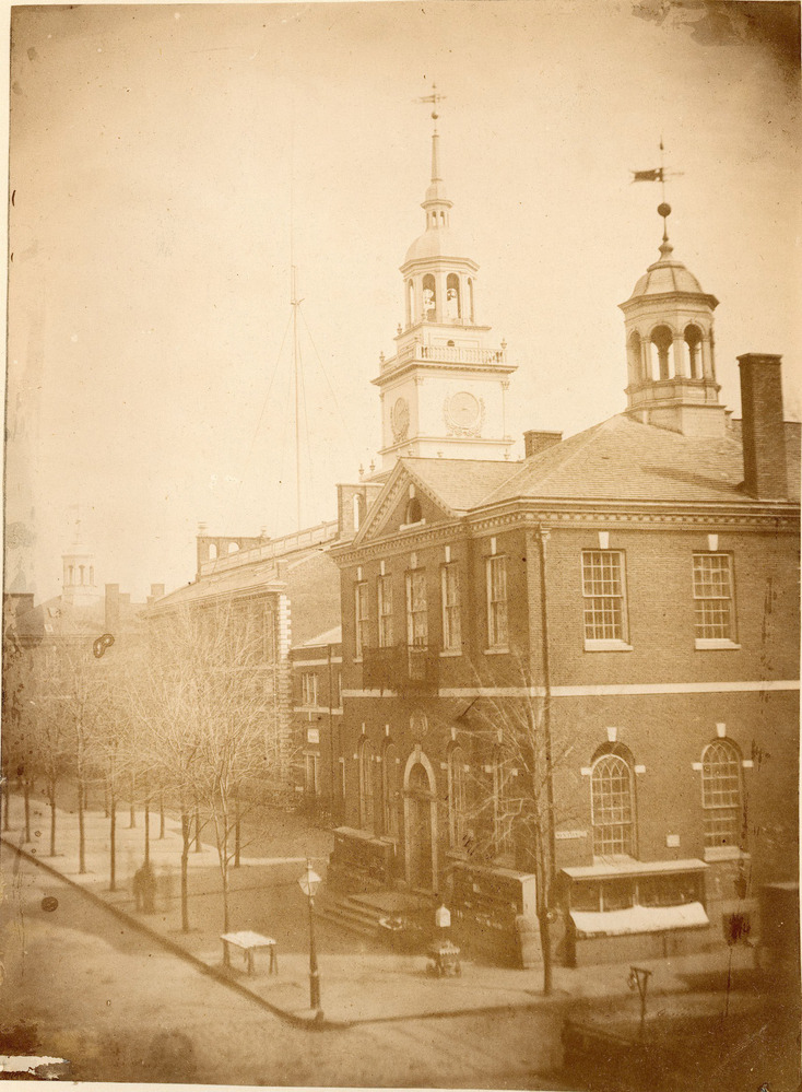 Sepia photograph of Congress Hall
