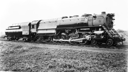 Baltimore & Ohio no. 5510 [4-8-2]
