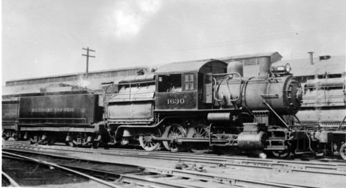 Baltimore & Ohio no. 1630 [2-8-0]
