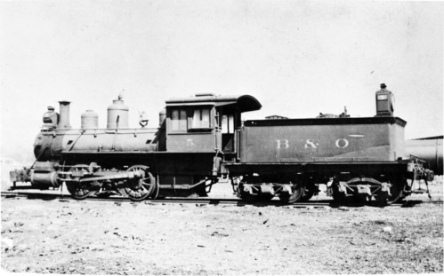 Baltimore & Ohio no. 0005 [0-4-0]