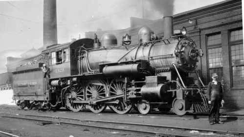 Baltimore & Ohio no. 1329 [4-6-0]