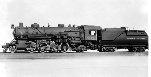 Baltimore & Ohio no. 4400 [2-8-2]