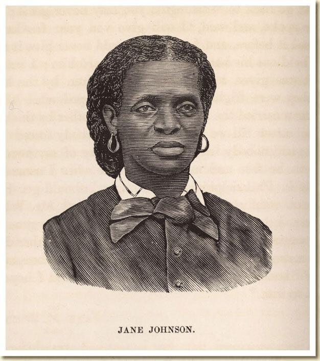 Engraving of Jane Johnson