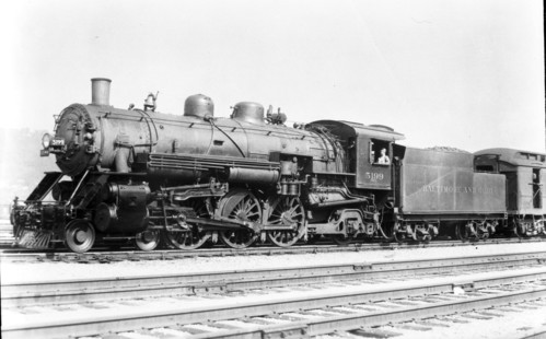 Baltimore & Ohio no. 5199 [4-6-2]