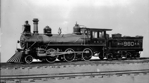 Baltimore & Ohio no. 0980 [2-6-0]