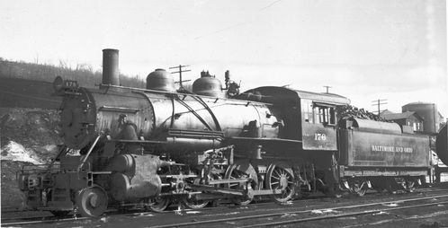 Baltimore & Ohio no. 0176 [4-6-0]