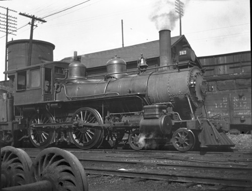 Baltimore & Ohio no. 0767 [4-4-0]
