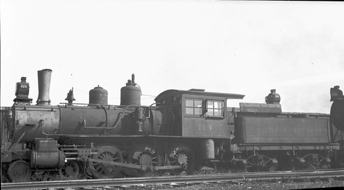 Baltimore & Ohio no. 0174 [4-6-0]