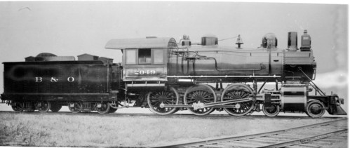 Baltimore & Ohio no. 2049 [4-6-0]