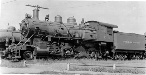 Baltimore & Ohio no. 1736 [2-8-0]