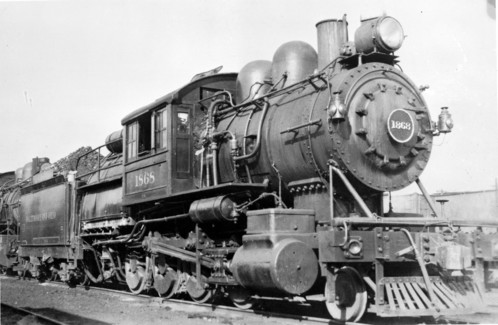 Baltimore & Ohio no. 1868 [2-8-0]