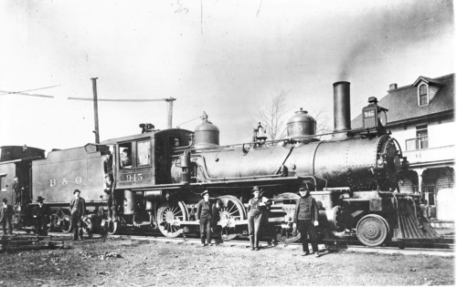 Baltimore & Ohio no. 0945 [2-6-0]