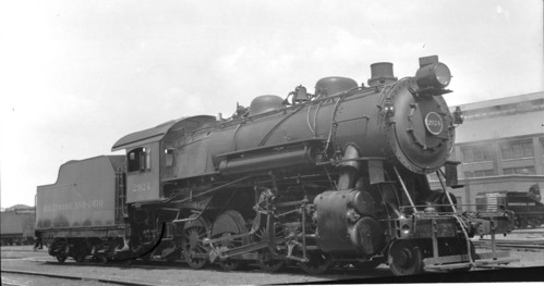Baltimore & Ohio no. 2924 [2-8-0]