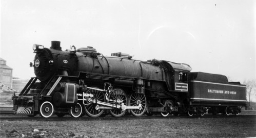 Baltimore & Ohio no. 5300 [4-6-2] Pres. Washington