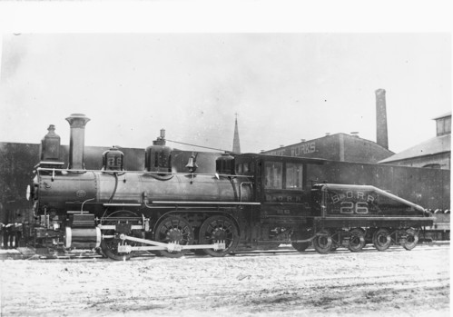 Baltimore & Ohio no. 0026 [4-4-0]
