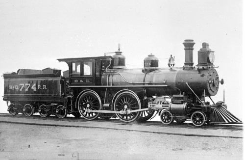 Baltimore & Ohio no. 0774 [4-4-0]