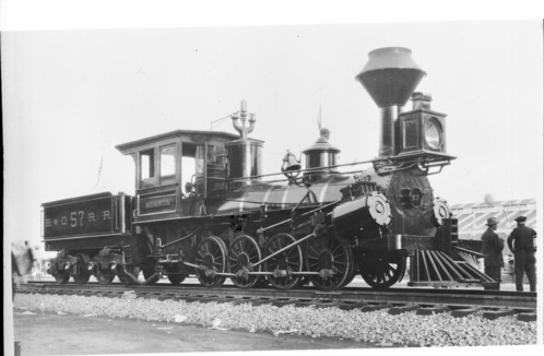 Baltimore & Ohio no. 0057 [0-8-0] Memnon