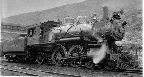 Baltimore & Ohio no. 1484 [4-4-2]
