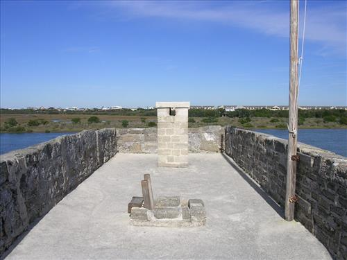 Views of Fort Matanzas National Monument in January 2008